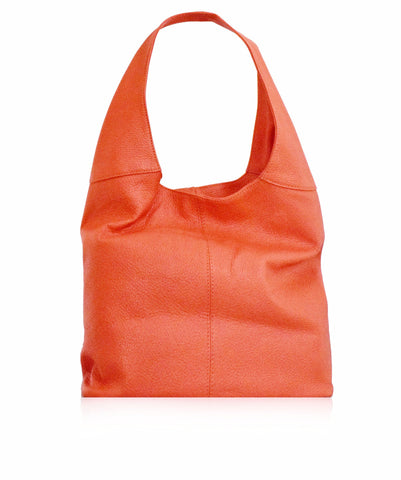 SIGNORIA Coral Soft Leather Hobo Bag