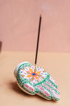 Hand-painted Clay Diamonds Hand Incense Holder
