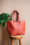 Musa 100% Recycled Handbag in Rust