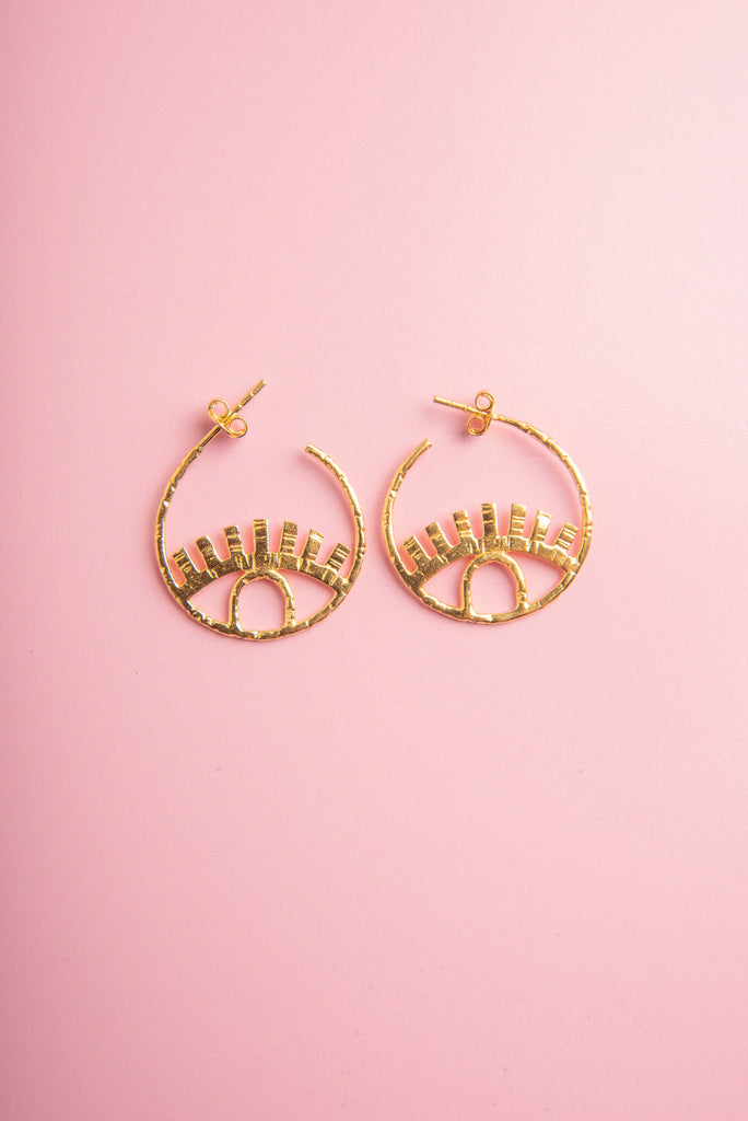 Chetana Eye Earrings