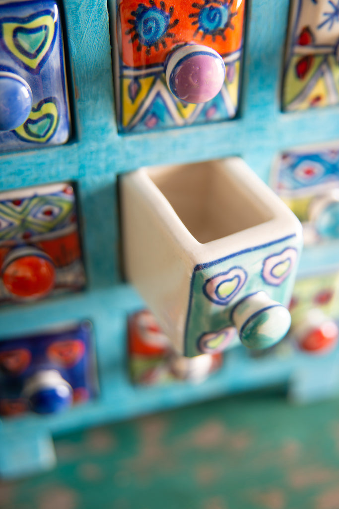 Ceramic Mini Chest