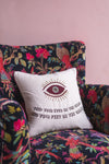 Sandeep Eyes on the Stars Embroidered Cushion Cover