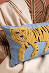 Tiger Tufted Cushion Cover