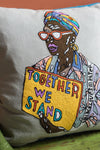 Nancy Marrs 'Together We Stand' Cushion Cover