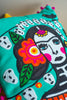 Frida Kahlo Day of The Dead Rectangular Filled Cushion