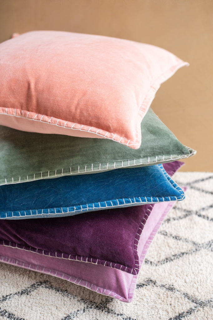 Soft Cotton Velvet Cushion Cover