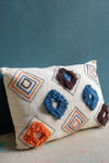 Cream Handloom Cushion Cover
