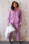 Hyacinth Hand Block Printed Cotton Pyjamas