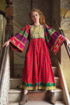 Zorina Traditional Afghani Vintage Dress