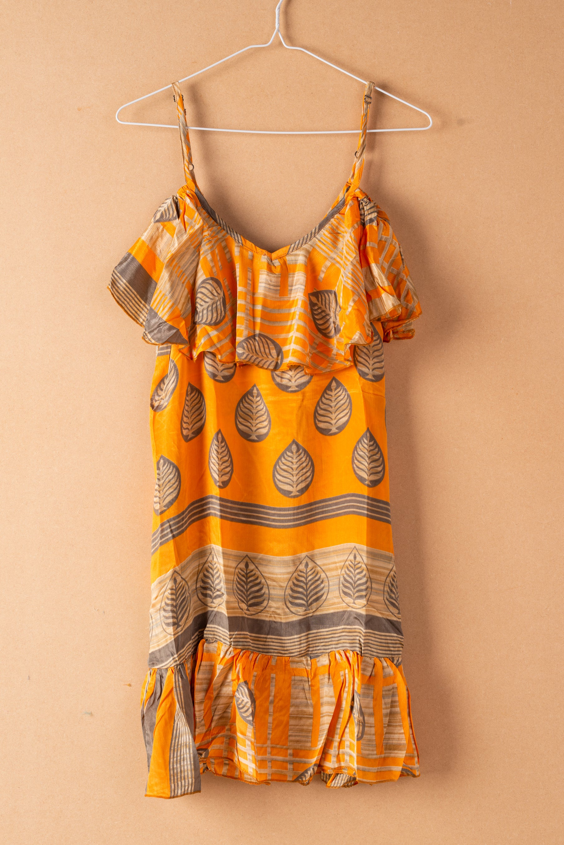 Recycled Silk Short Sleeveless Dress - medium - 02