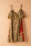 Recycled Silk Short Sleeveless Dress - medium - 26