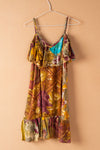 Recycled Silk Short Sleeveless Dress - medium - 31