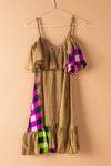 Recycled Silk Short Sleeveless Dress - small - 04
