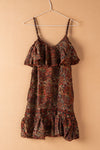 Recycled Silk Short Sleeveless Dress - small - 16