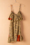 Recycled Silk Short Sleeveless Dress - small - 19