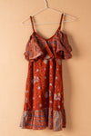 Recycled Silk Short Sleeveless Dress - small - 21
