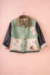 Scrap Scrap Floral Wool Box Jacket - S/M