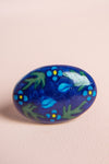 Jaipur Blue Ceramic Door Knob