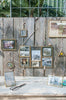 Hanging Brass & Glass Multi Aperture Photo Frame