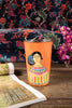 Frida Kahlo Orange Stainless Steel Tumbler