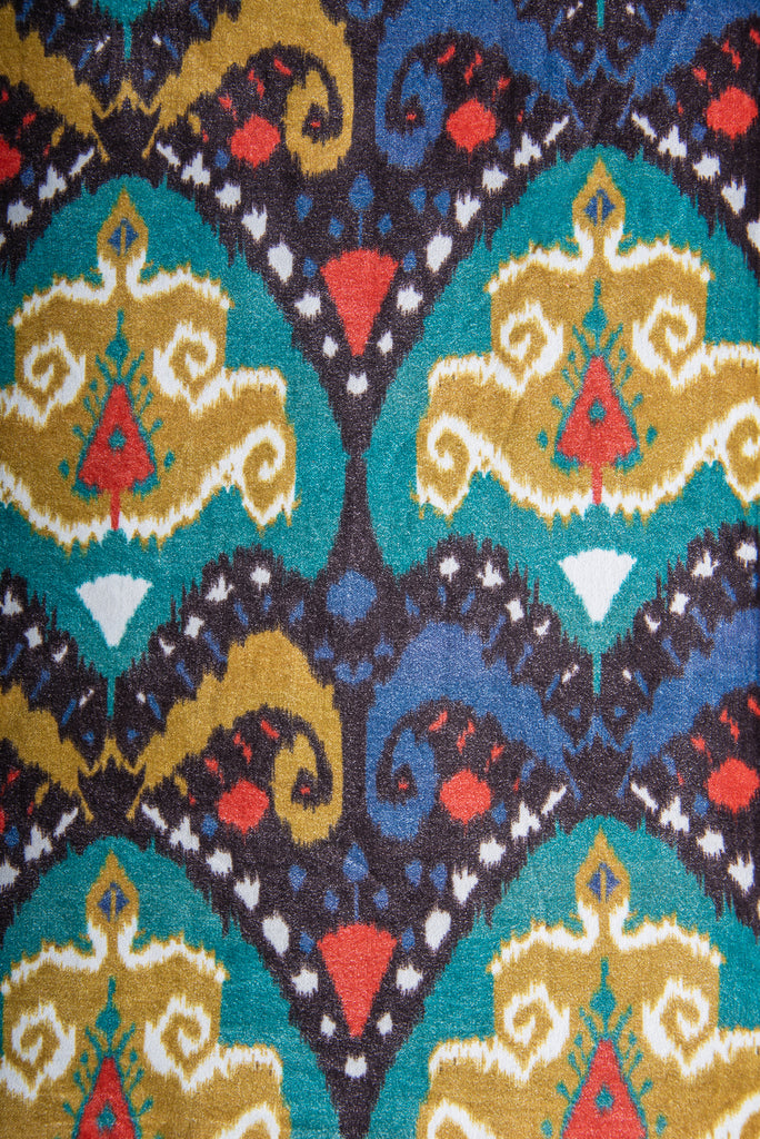 Regal Design Velvet Fabric