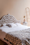 Elegant White MDF Head Board