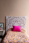 White MDF Single Head Board