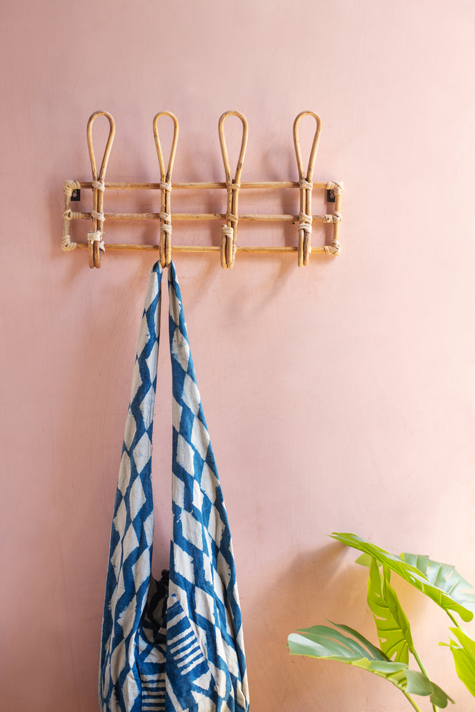 Cane Coat Hook Rack