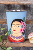Frida Kahlo Stainless Steel Tumbler