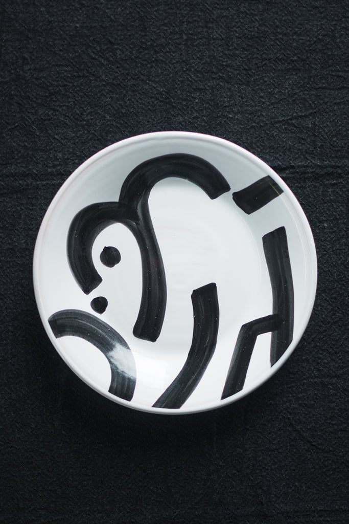 Abstract Design Ceramic Plate