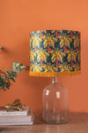 Caitlin Evans Green & Navy Palm Lampshade