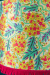 Caitlin Evans Yellow Coastal Flower Lampshade
