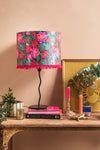 Caitlin Evans Pink Dahlias Lampshade