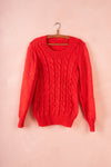 Glo's Day Glow 'Red Sparkle' Jumper - UK 6-10