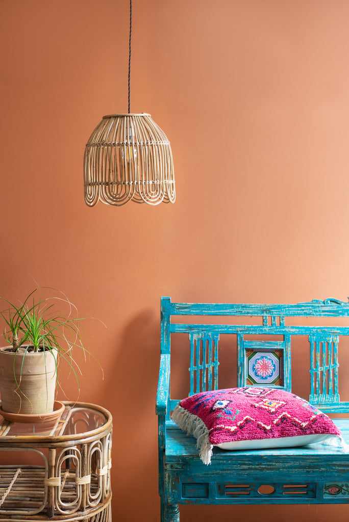 Cane Lampshade