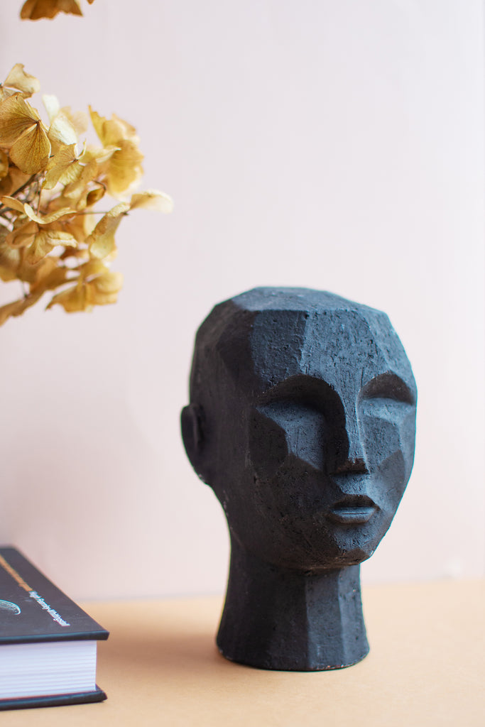Decorative Head in Black