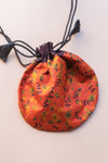Upcycled Silk Pouch Medium