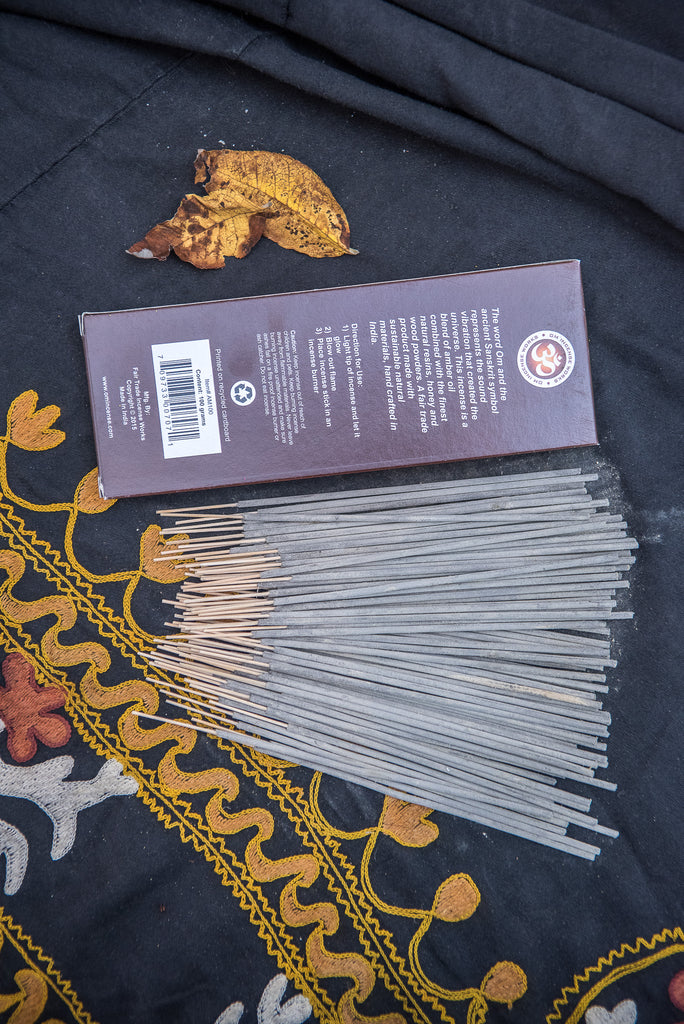 Om Incense - Amber 100gm