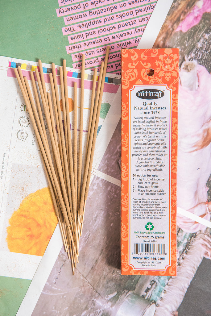 Nitiraj Masterpiece Incense - Buddha
