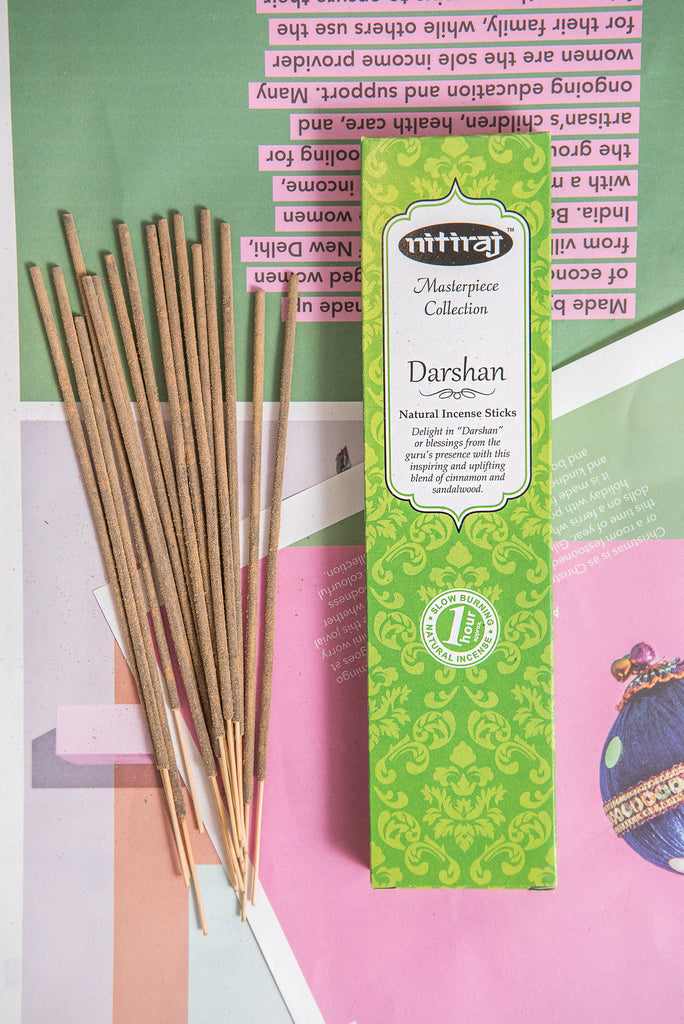 Nitiraj Masterpiece Incense - Darshan