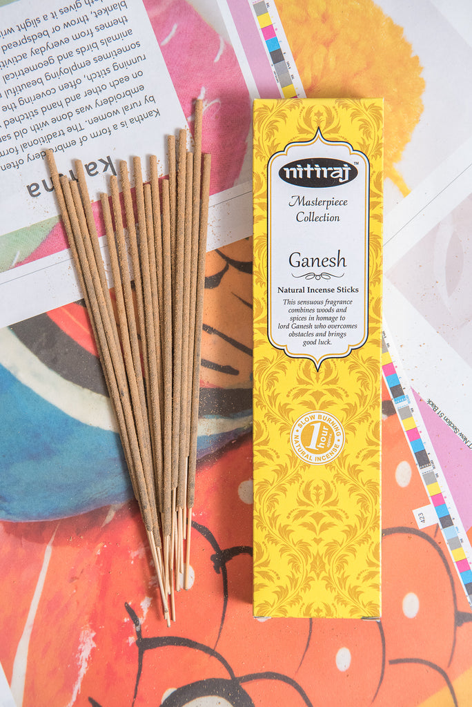 Nitiraj Masterpiece Incense - Ganesh