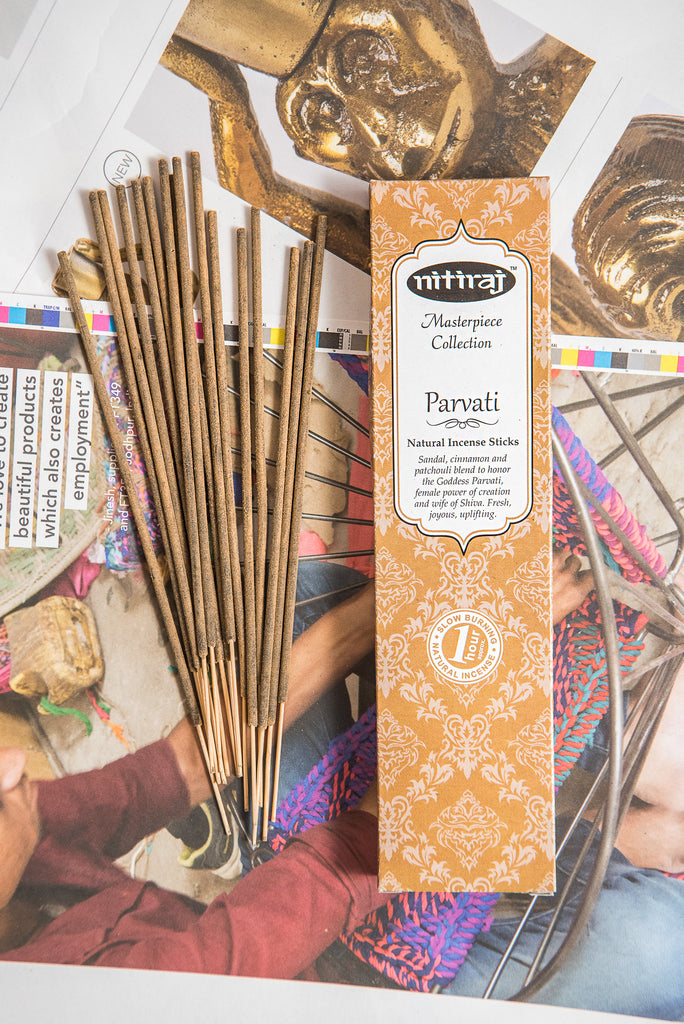 Nitiraj Masterpiece Incense - Parvati