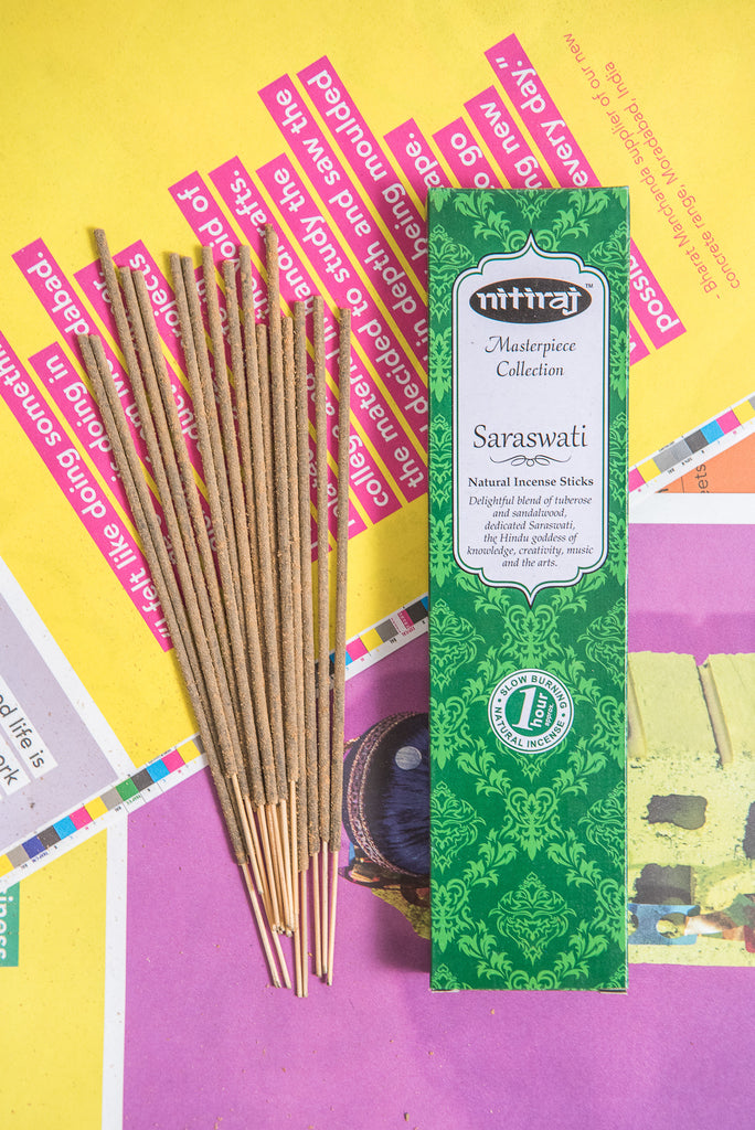 Nitiraj Masterpiece Incense - Saraswati