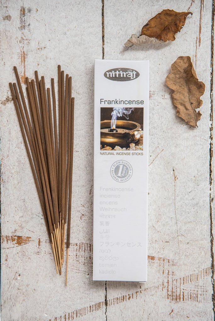 Nitiraj Platinum Incense - Frankincense