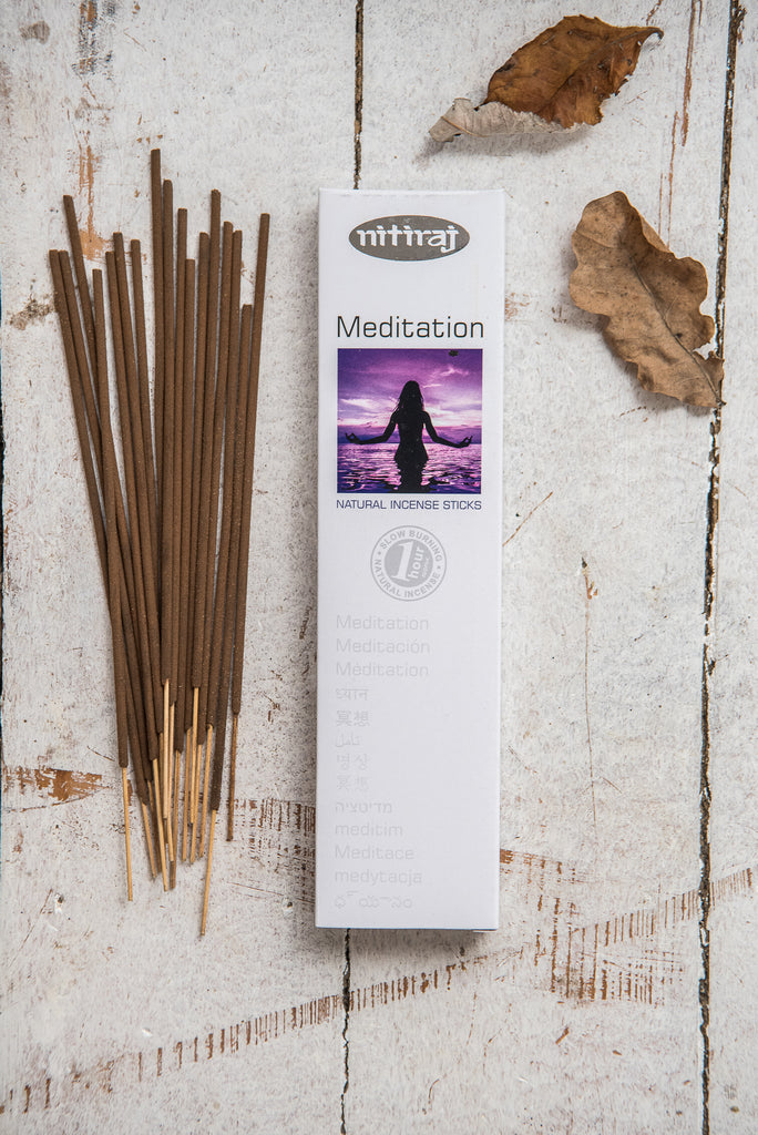 Nitiraj Platinum Incense - Meditation