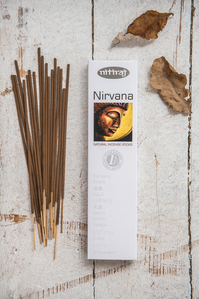 Nitiraj Platinum Incense - Nirvana