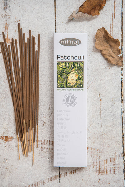 Nitiraj Platinum Incense - Patchouli