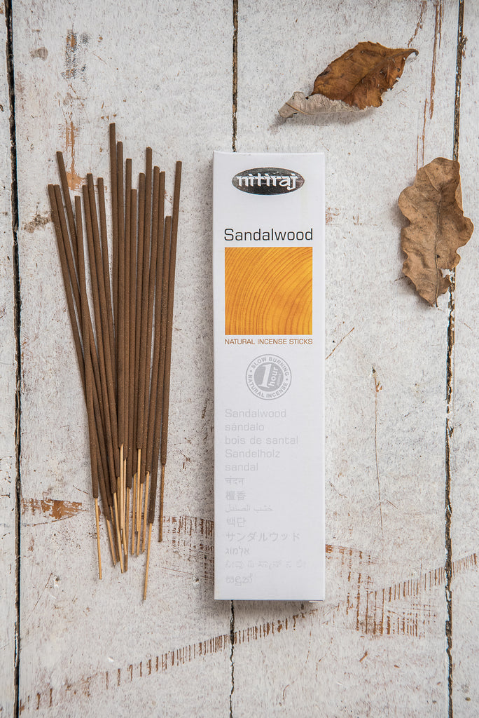 Nitiraj Platinum Incense - Sandalwood