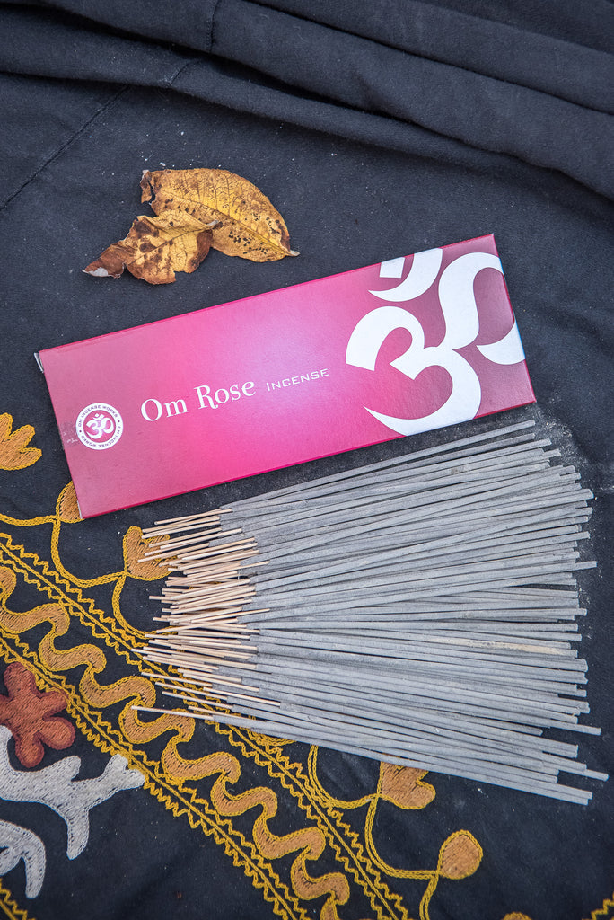 Om Incense - Rose 100g