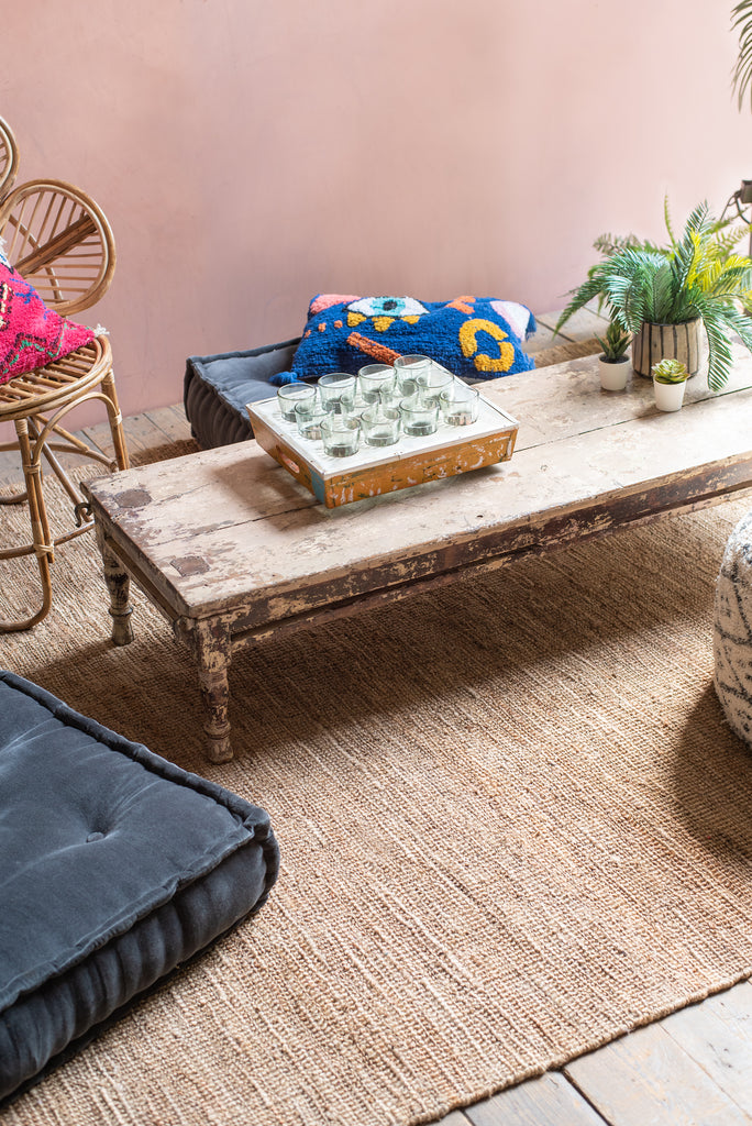 Hemp Hand-Twisted Rug